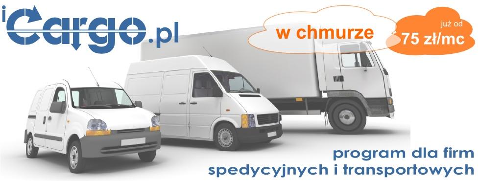iCargo.pl program dla firm transportowych i spedycyjnych